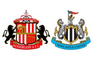 Sunderland and Newcastle football crests